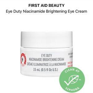 NEW FAB (First Aid Beauty) Eye Duty Eye Cream